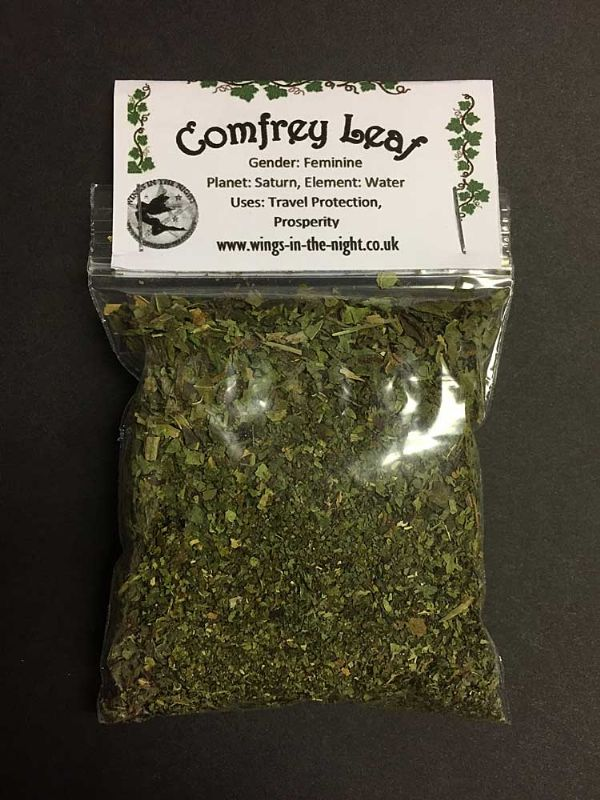 COMFREY LEAF Dried Spell Craft Herb